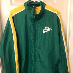 Retro Nike Windbreaker Jacket - XL (Patched)